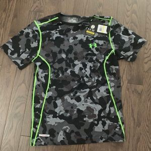 Brand New Fitted UA Camo T
